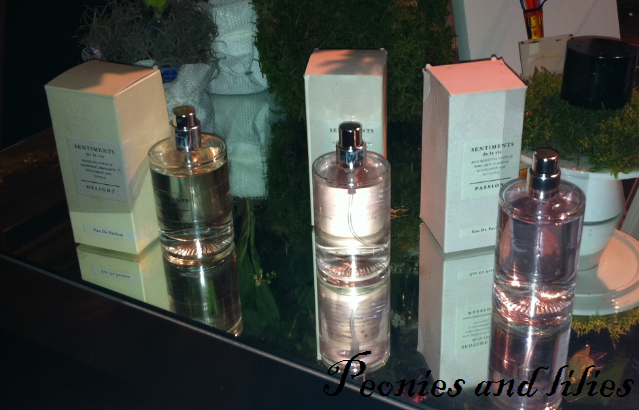 Sentiments de la vie perfume, M&S spring 13