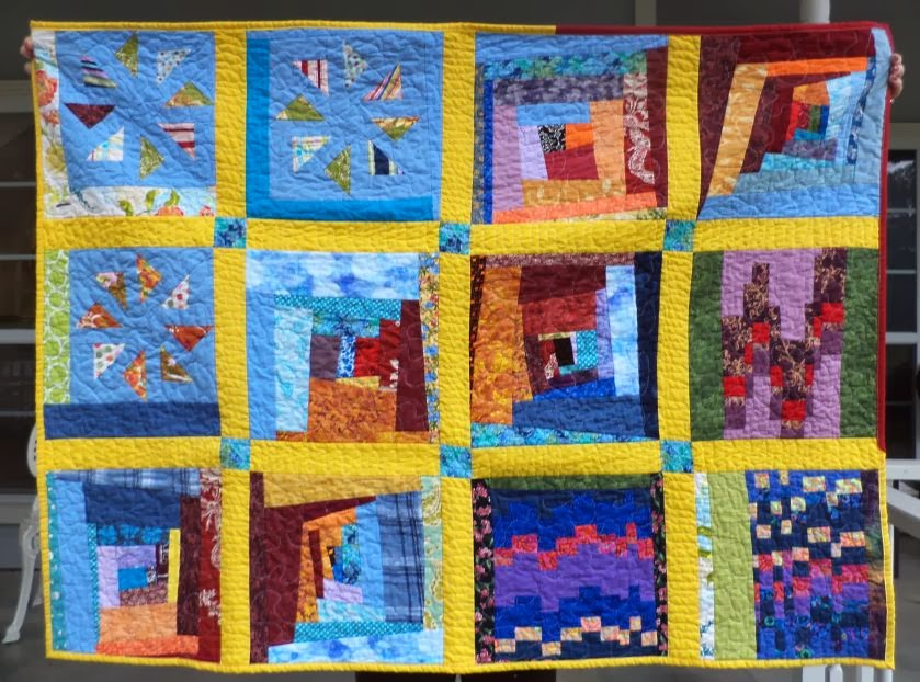 Kat & Cat Quilts: Orphan blocks finished! {100 Quilts for Kids} : quilting with kids - Adamdwight.com