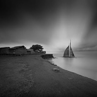 Indonesian master Black and White Photo