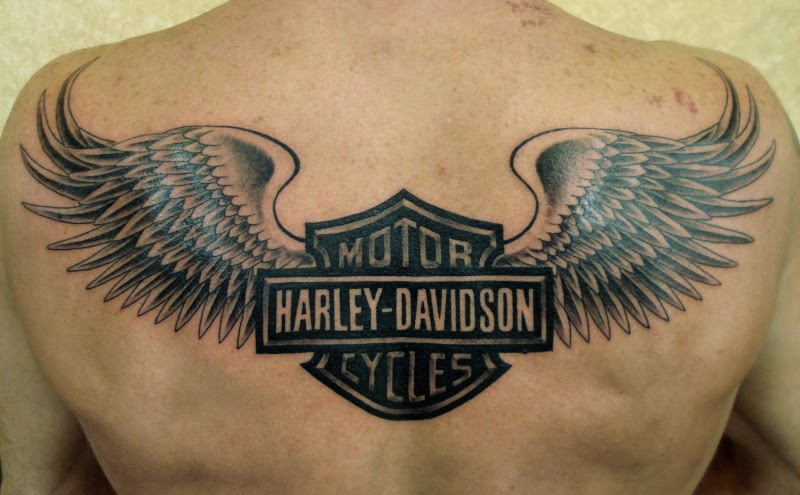 biker design and style tattoos collection