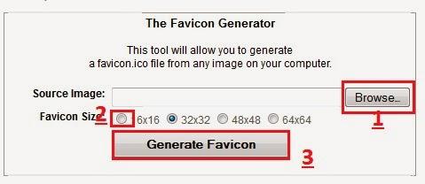 Cara Membuat Favicon di Blog