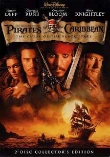 movie suggestion, pirates, caribbean, curse of black pearl, Johnny Depp, Geoffrey Rush, Orlando Bloom, Keira Knightley, fantasy, action, adventure
