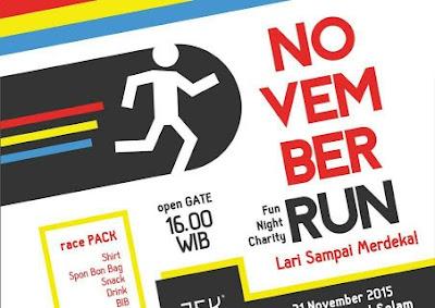 November Run 2015 Museum Kapal Selam Surabaya, lomba lari surabaya
