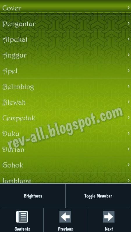 Daftar Isi - aplikasi manfaat buah untuk android (rev-all.blogspot.com)