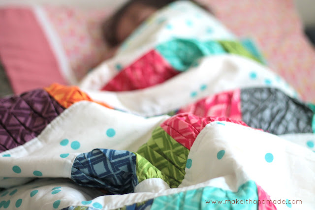The Crinkle Quilt by Make It Handmade 