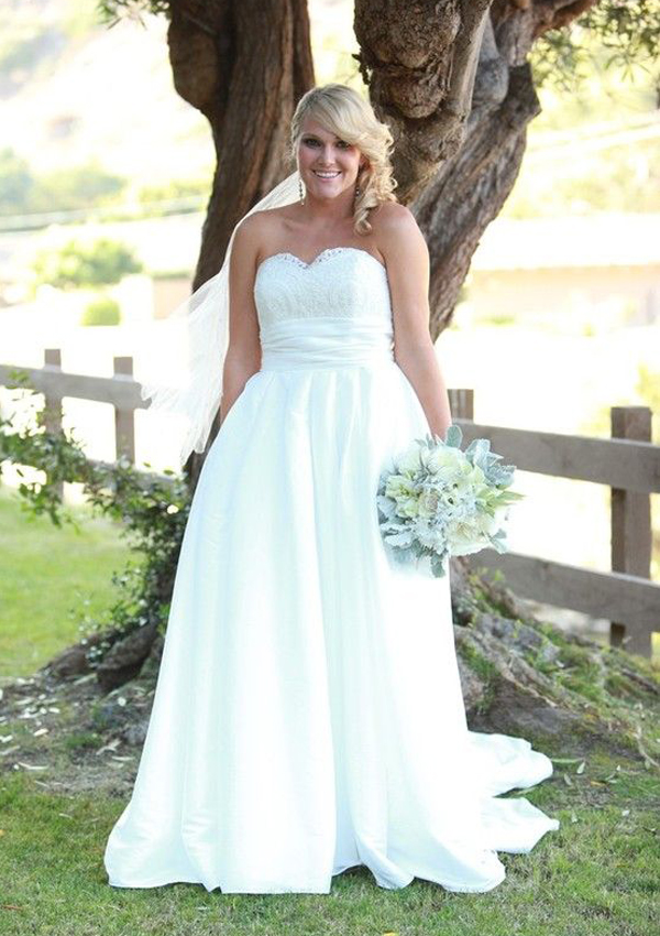 perfect plus size wedding dresses