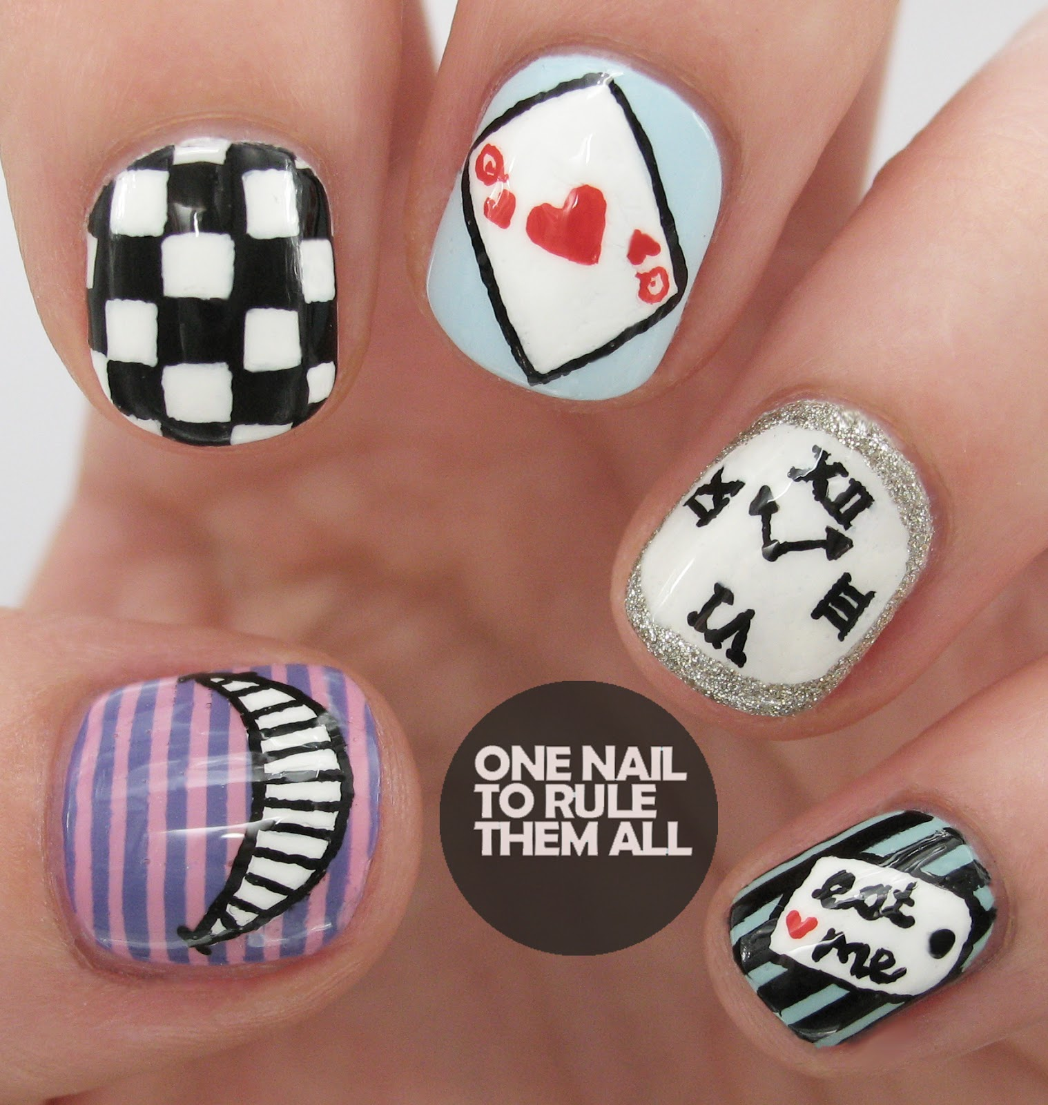 One Nail To Rule Them All: Digital Dozen Does Books - Day 4 \'Alice ...