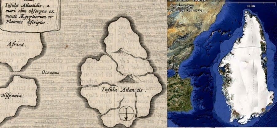 Kircher and Plato's Atlantis II