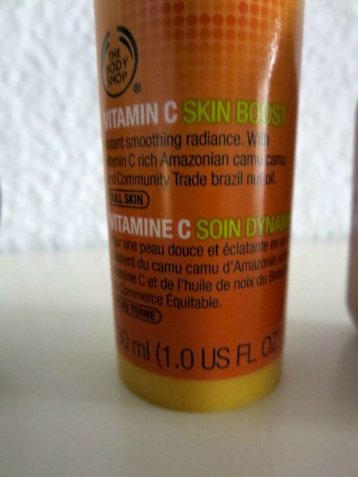 Vitamin C Skin Boost serum by The Body Shop.