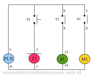 timer-motor-pompa-air-tambah-relay