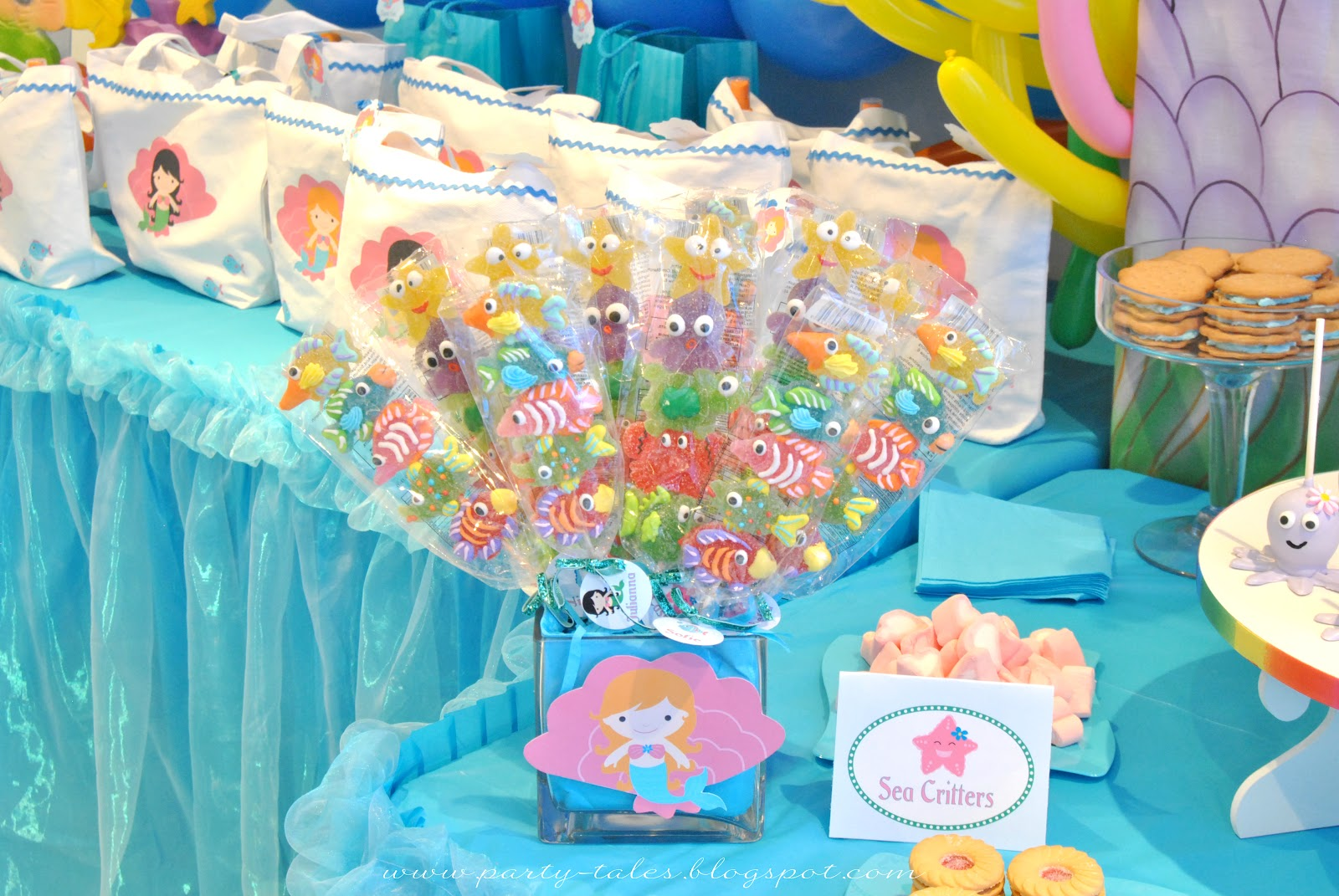 Party-Tales: ~ Birthday Party ~ Under the Sea Birthday ...