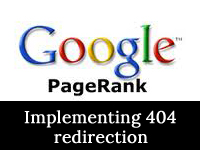 404 redirection