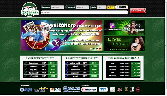 judi poker online jasapoker