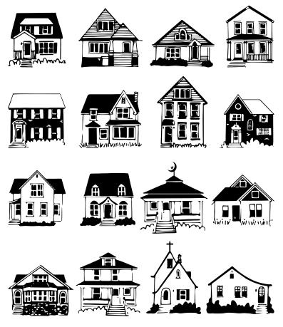 397 x 459 png 106kB, Download Gratis-Gambar Rumah | Belajar CorelDRAW