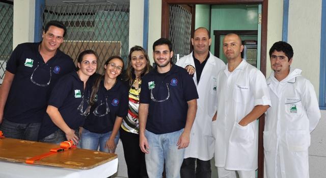 Estudantes e profissionais do UNIFESO levam 'vítimas' do simulado ao HCTCO