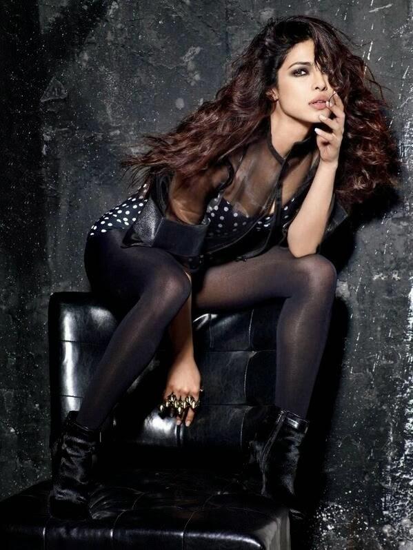 Priyanka Chopra in Polka-dot Bikini