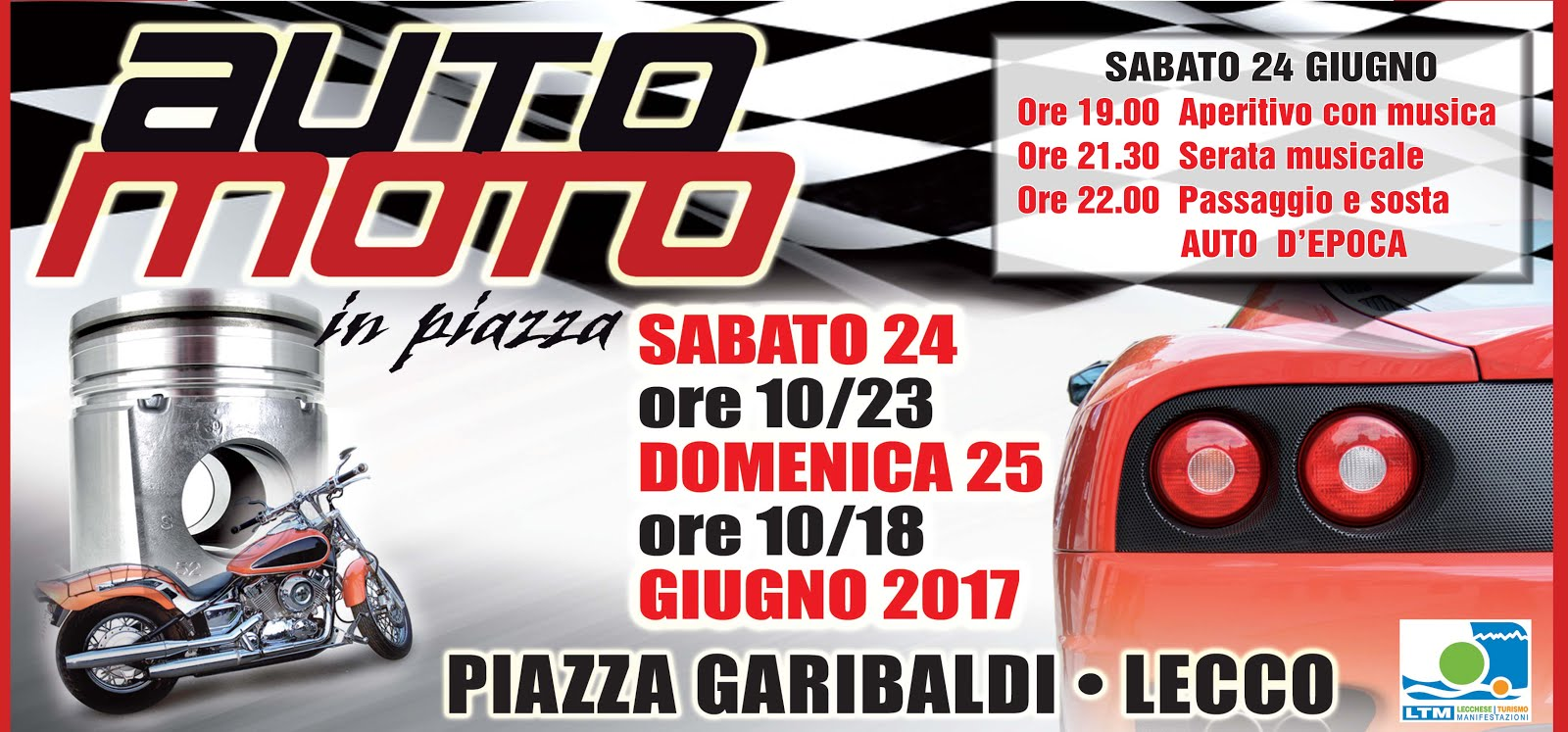 Auto e Moto in piazza