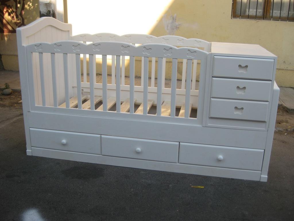 Muebles de bebe cuna mariposa para antofagasta acreditado for Muebles mi cuna