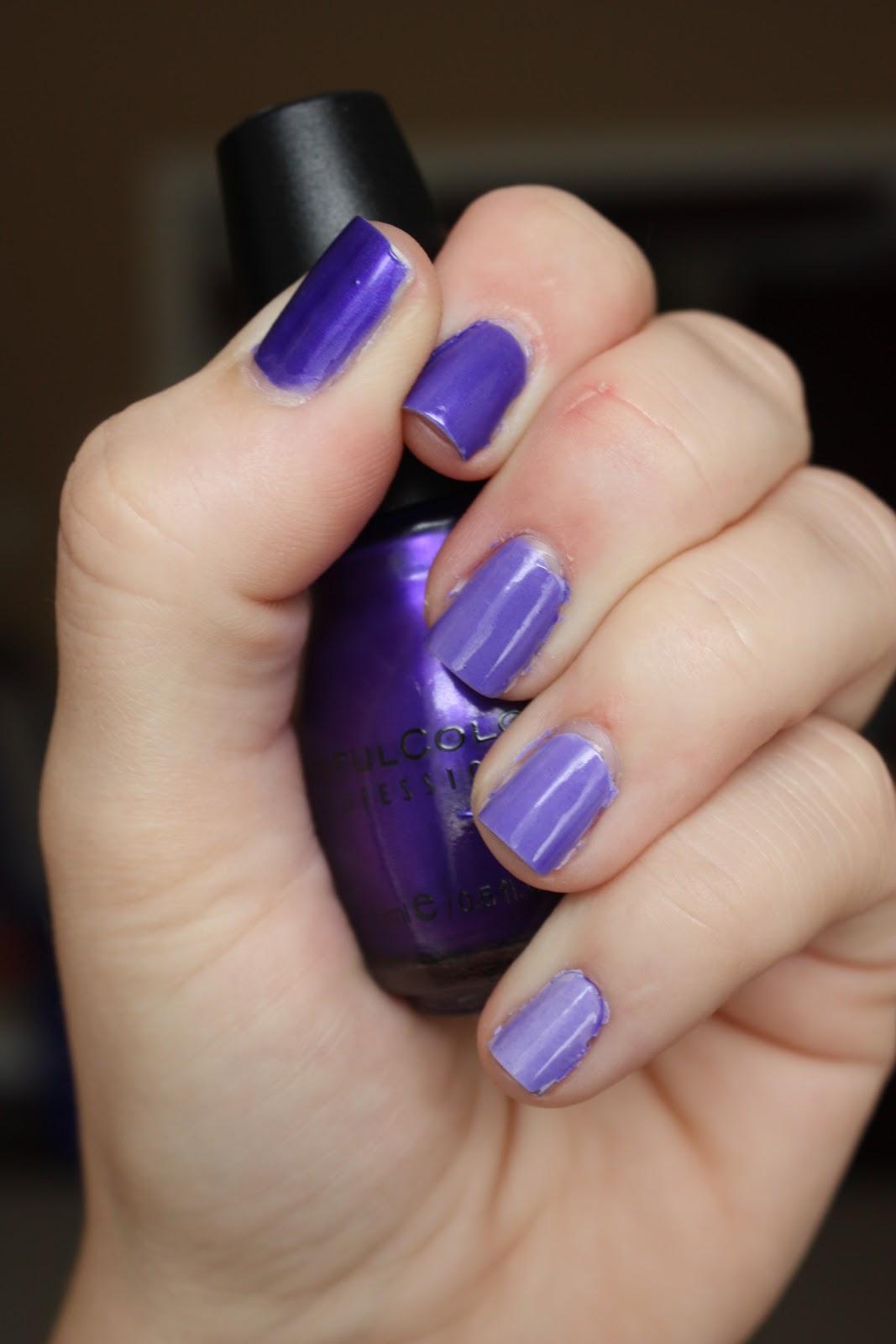 Mama Loves Mani\'s!: Purple Ombre Nails
