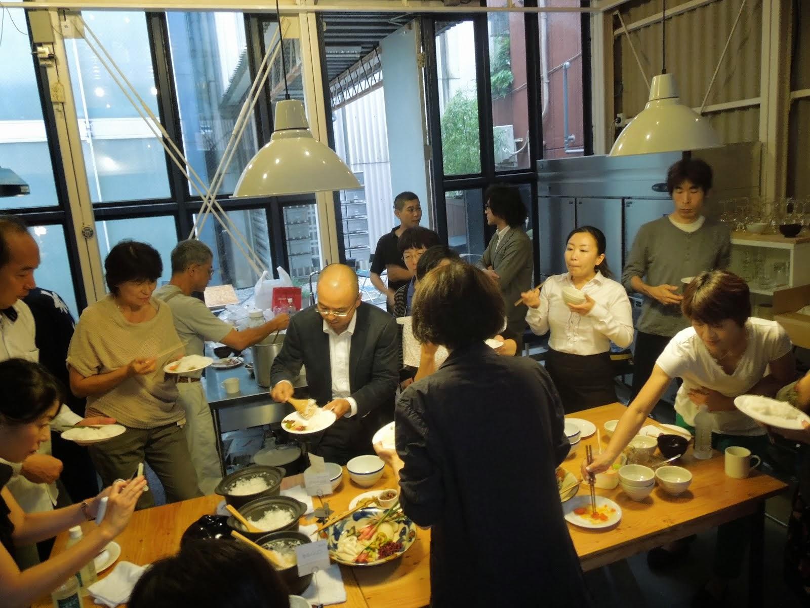 炊きたてごはん昼食会 2013.09.26