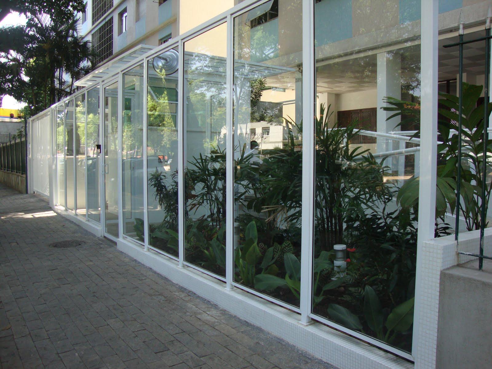 #797952  de Alumínio: Fachadas em Vidro e AlumínioHPA Esquadrias de Alumínio 532 Janelas Em Aluminio E Vidro