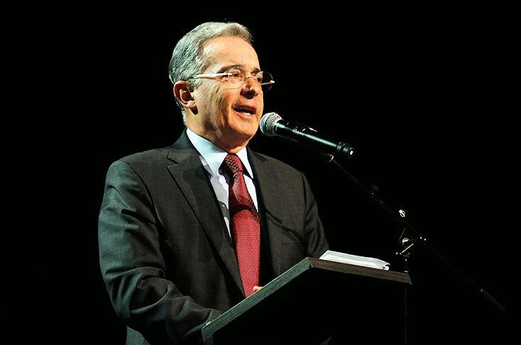 Álvaro Uribe Senador 2014