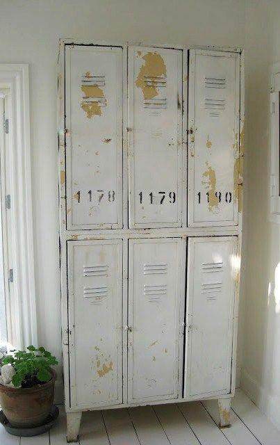 {Friday Favorites} Vintage Lockers