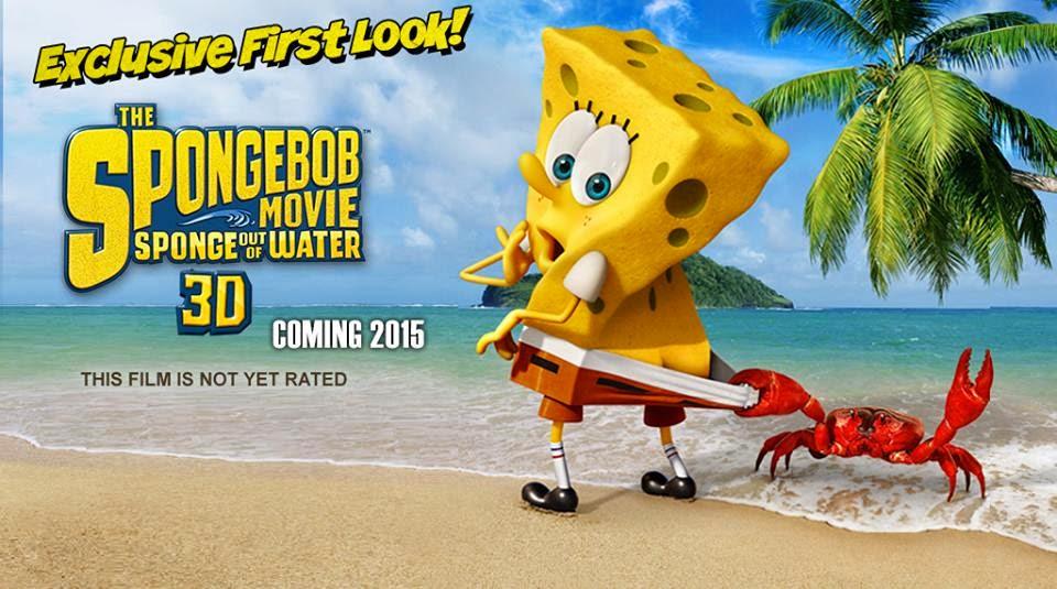 pop culture on wax spongebob squarepants 2 sponge out of water