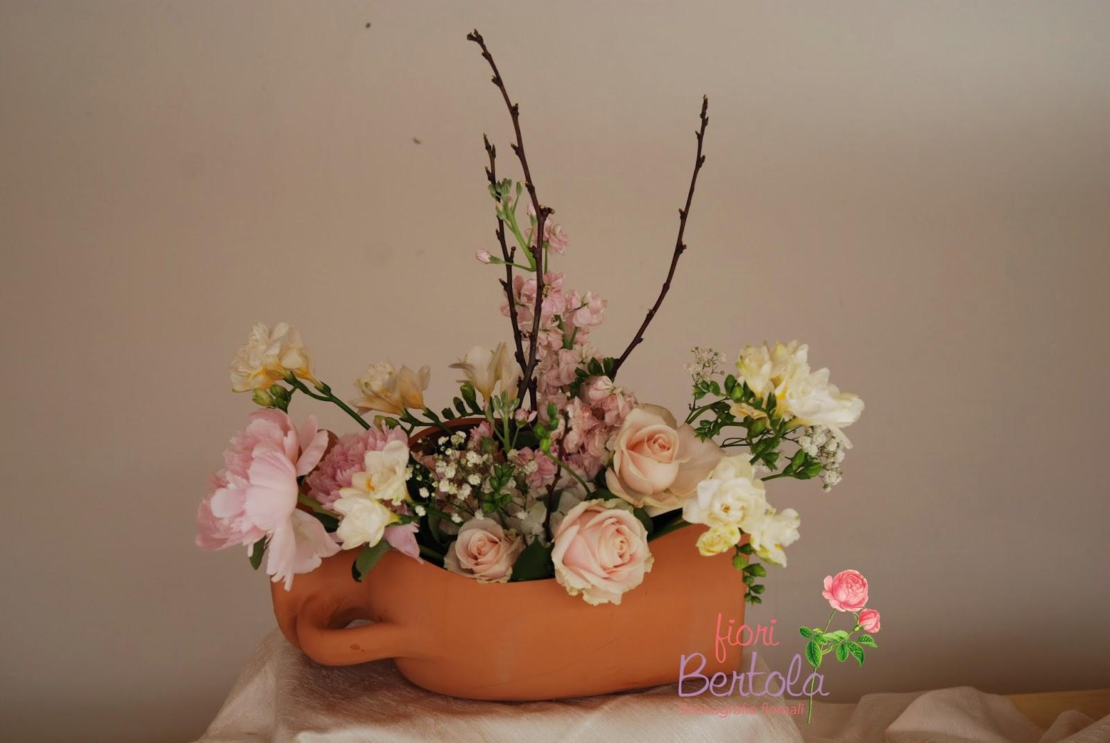 Rose Avalanche E Ortensie : Fiori bertola matrimonio in bianco e rosa cipria