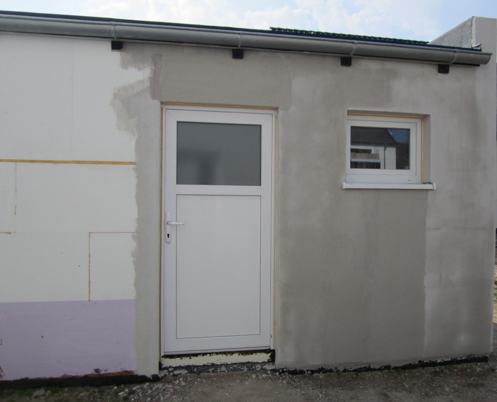 unser hausbau garage in eigenleistung fortsetzung armierungsputz arbeiten. Black Bedroom Furniture Sets. Home Design Ideas