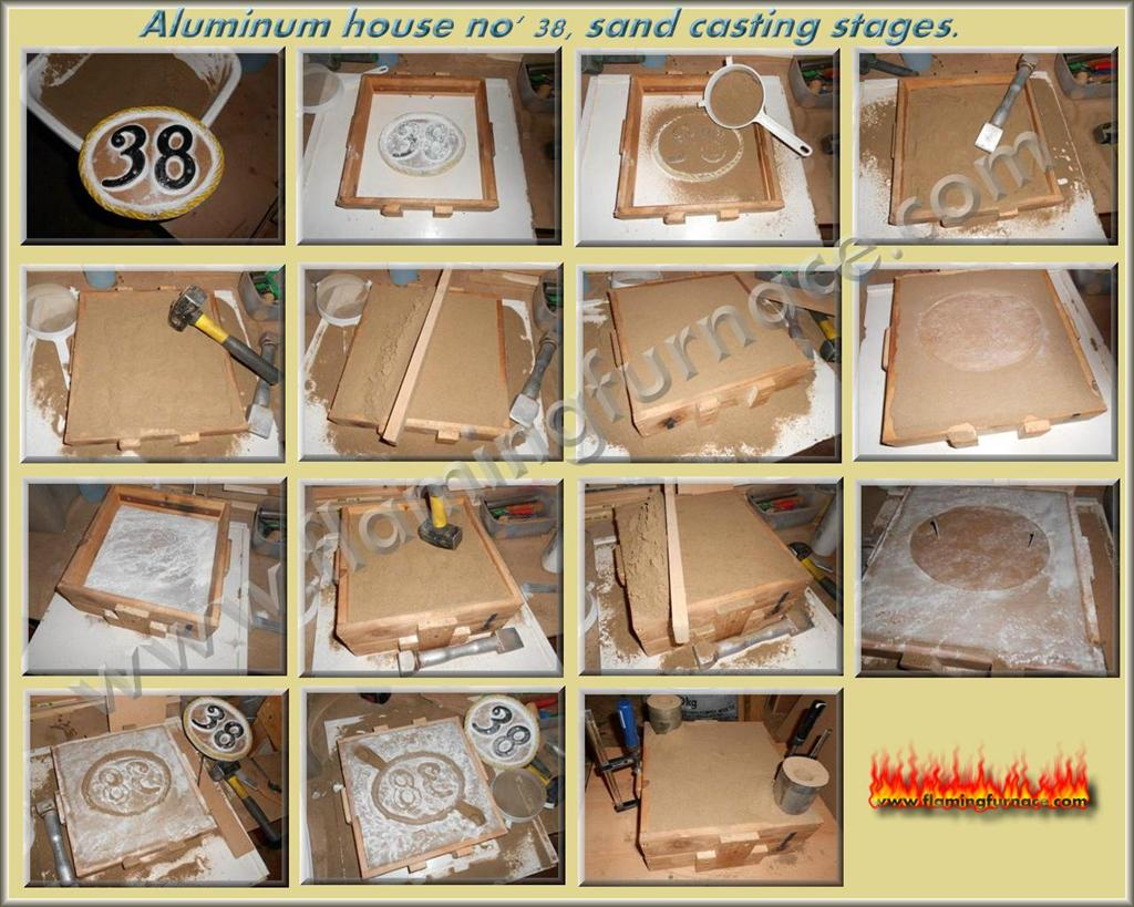 february 2012 metal casting projects