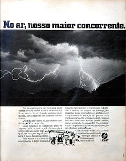 propaganda Light - 1976.década de 70. os anos 70; propaganda na década de 70; Brazil in the 70s, história anos 70; Oswaldo Hernandez;