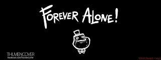 Ảnh bìa Facebook đẹp FA - Cover FB Alone Forever
