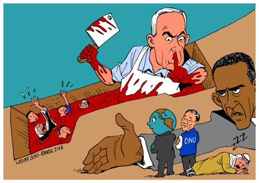 8.928 Palestijnen vermoord in 14 jaar