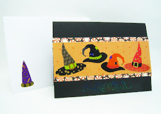 Witch Hat Halloween Card