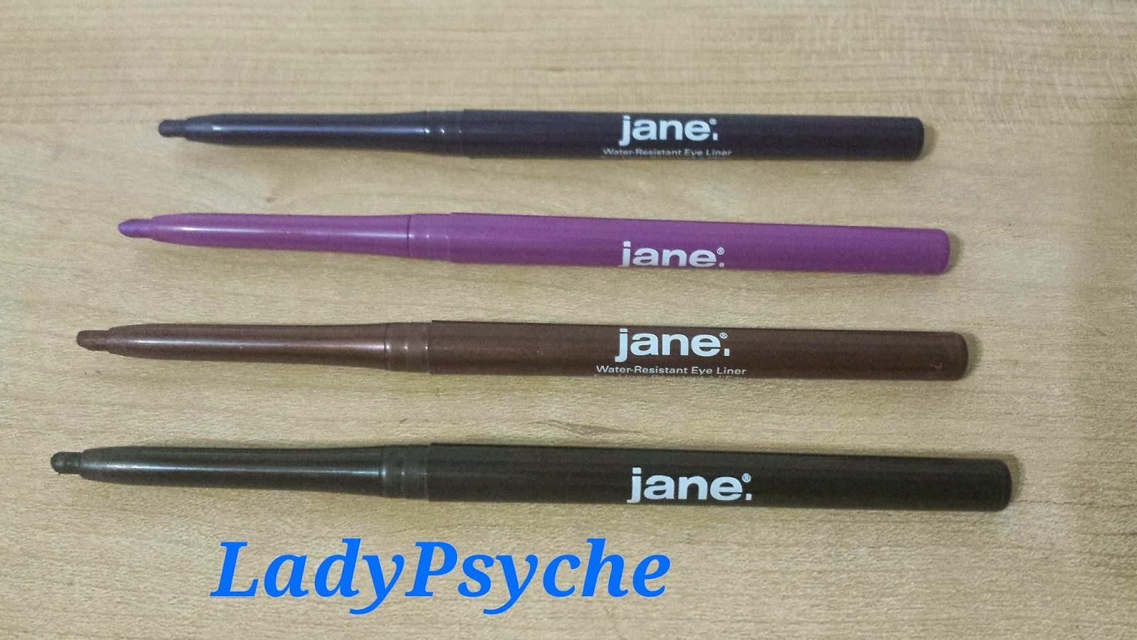 LadyPsyche Makeup & Fashion: Jane Cosmetics Eyes That Inspire ...