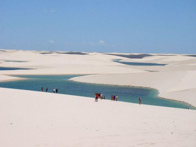 Gurun Pasir Putih di Brazil