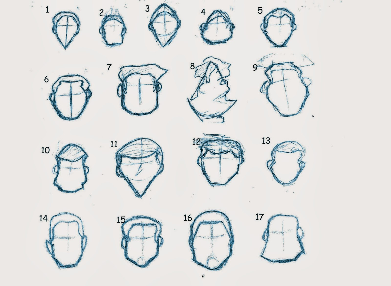 Character Design Head Shapes : Anass moudakir ba hons computer animation arts