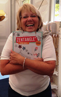 Zentangle für Kids von der Autorin Beate Winkler, CZT zu gewinnen