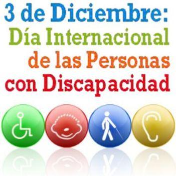 3 de Diciembre : día Internacional de las Personas con Discapacidad