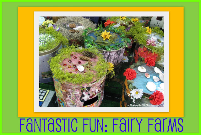 photo of: Fairy Farms: Child made castles and cottages for fairies