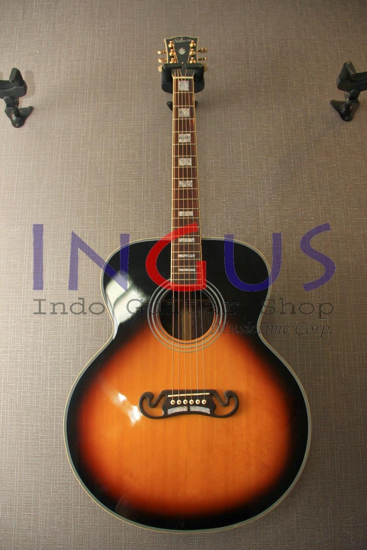 Jual Gitar Gibson J250 Sunburst Custom