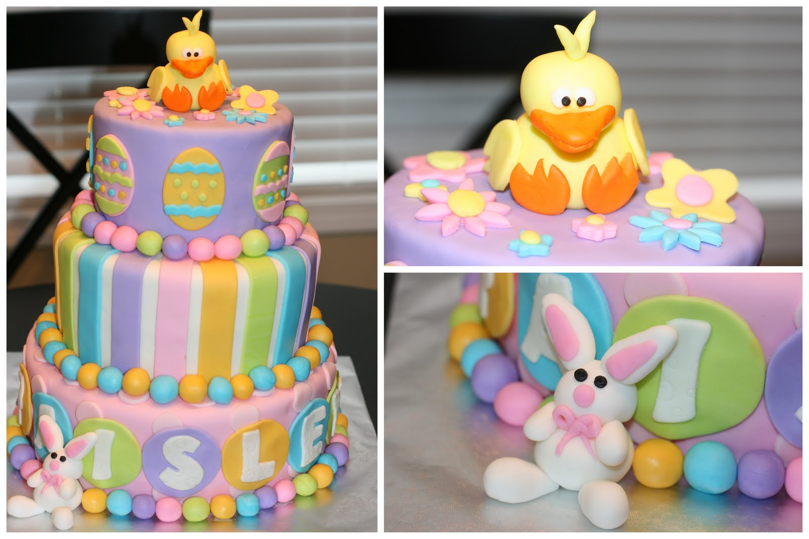 Carlys Cakes: Easter Theme Birthday