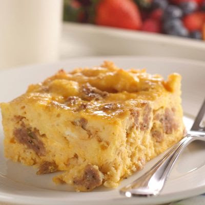 My Favorite Things: Sausage and Cheesy Eggs Breakfast Casserole