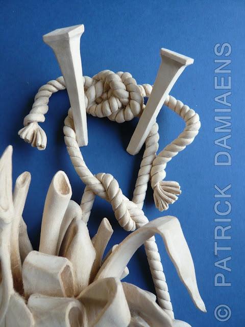 Ornamental woodcarver patrick damiaens high relief