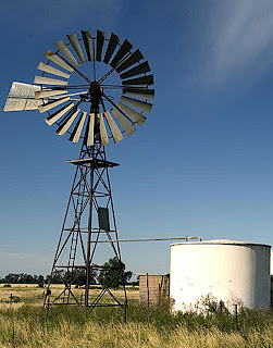 Windmill with sail locked at stop position Images - Frompo
