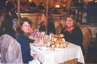 Tea at the Plaza in NYC 2000