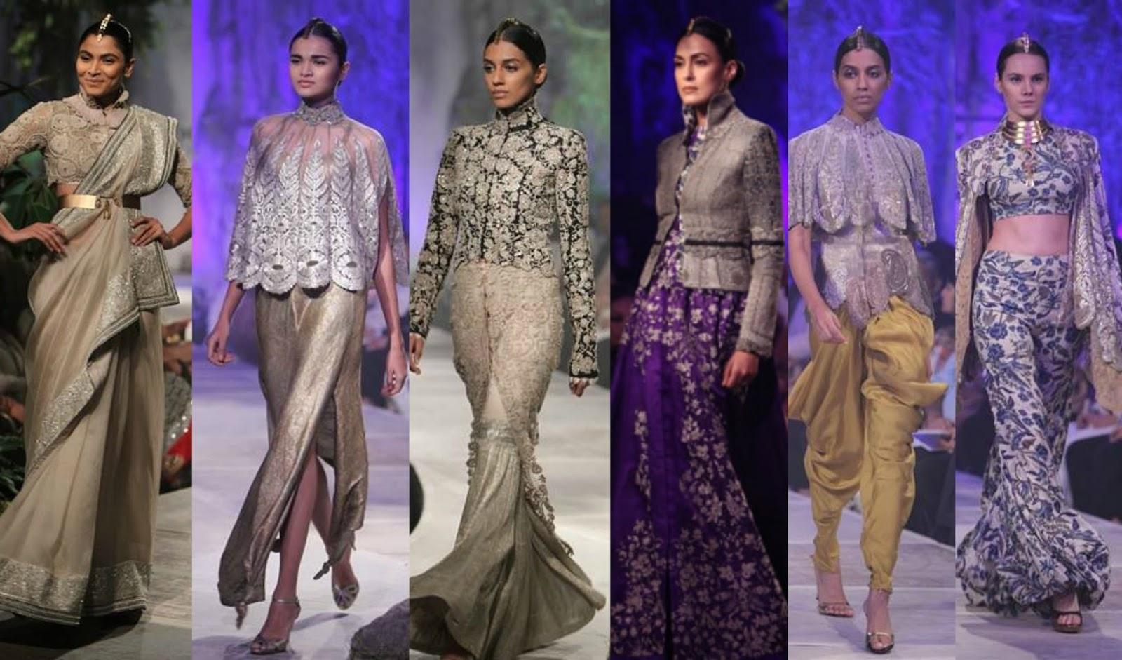Anamika Khanna:PCJ Delhi Couture Week 2013