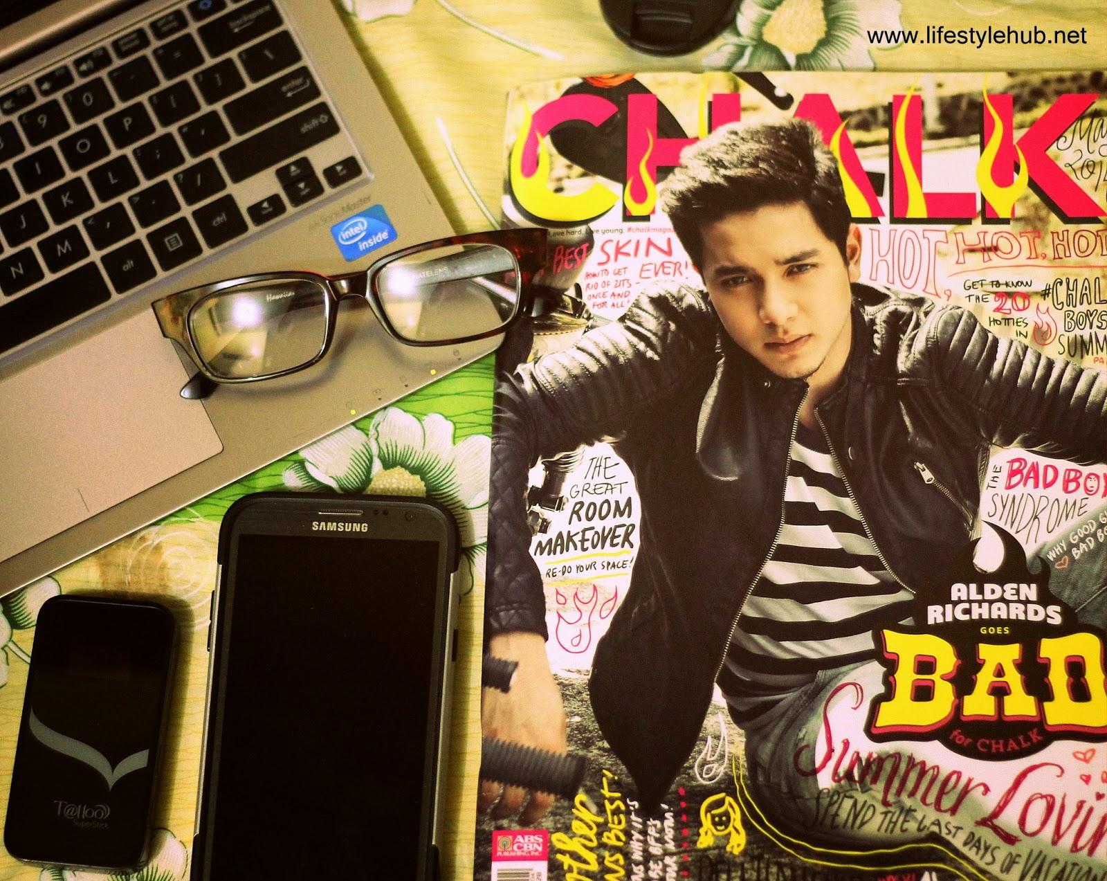 alden richards for chalk magazine cover