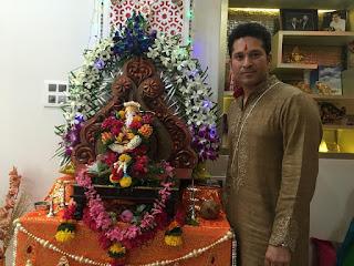 Sachin Tendulkar Ganesh
